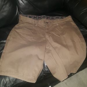 Rider by Lee dark khaki Bermudas plus sizes nwot